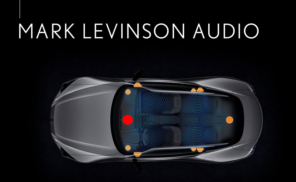Lexus LC Mark Levinson Audio