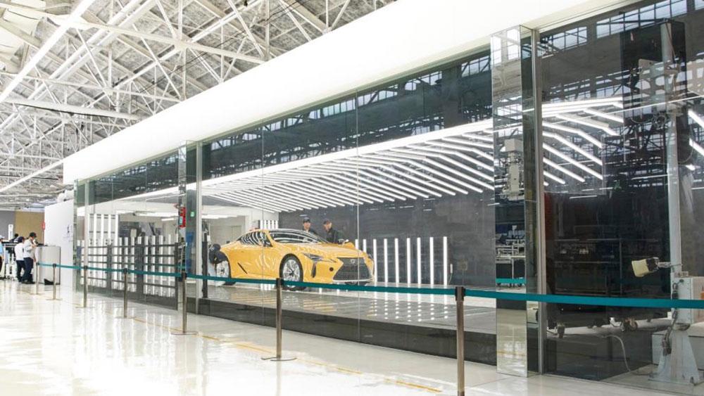 Lexus LC Motomachi Quiet Room