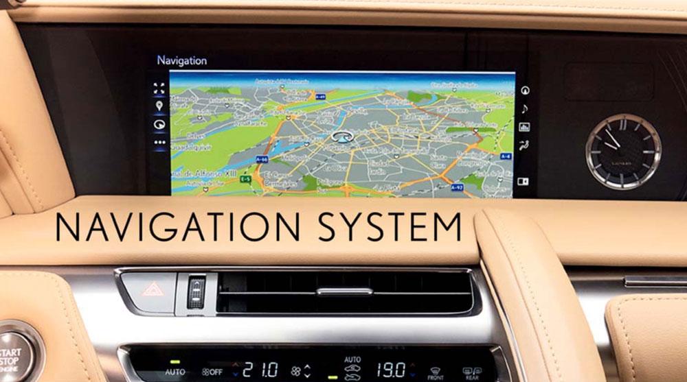 Lexus LC Navigation System