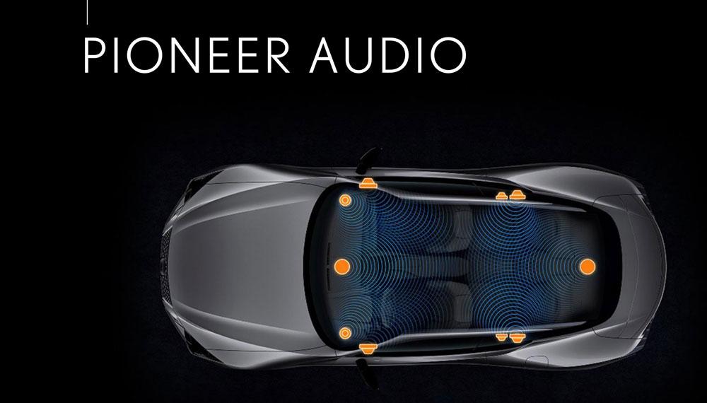 Lexus LC Pioneer Audio