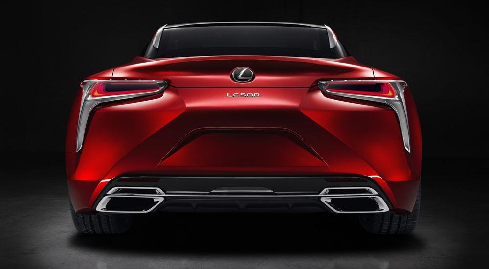 Lexus LC Rear