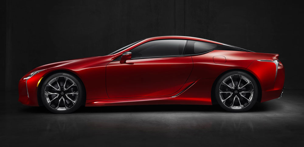 Lexus LC Side