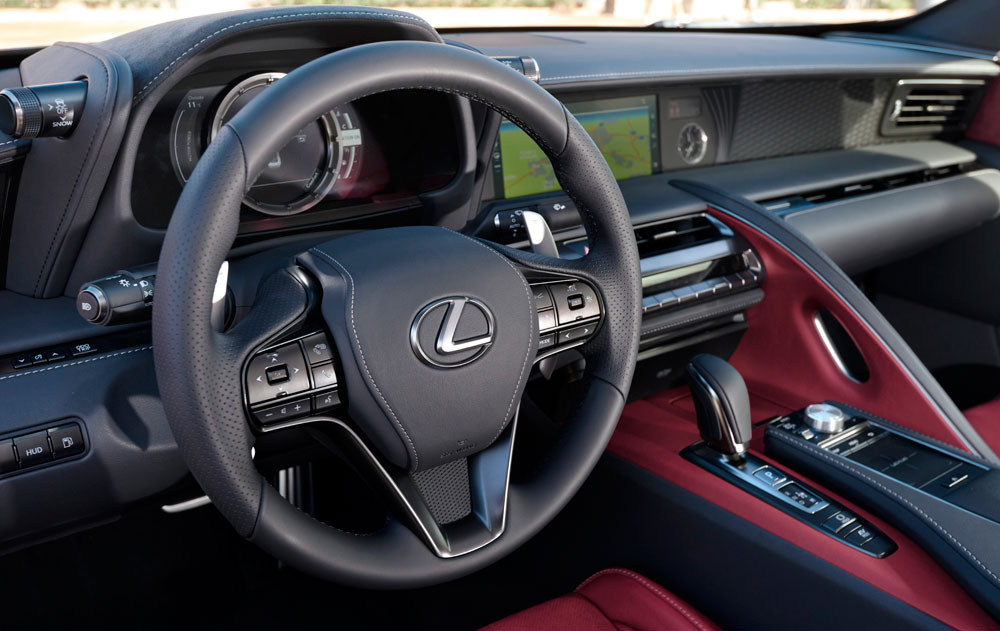 Lexus LC Steering Wheel