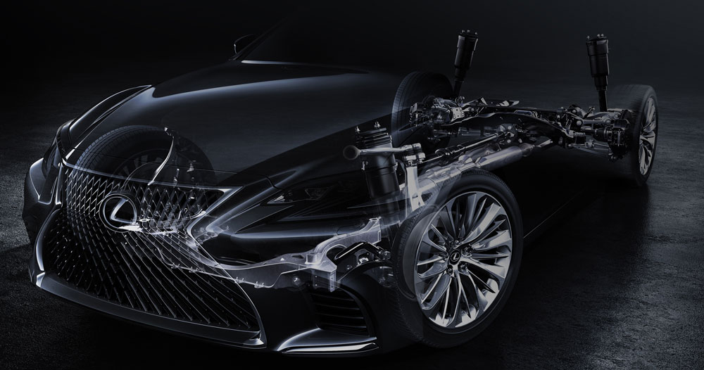 Lexus LS Teaser Image