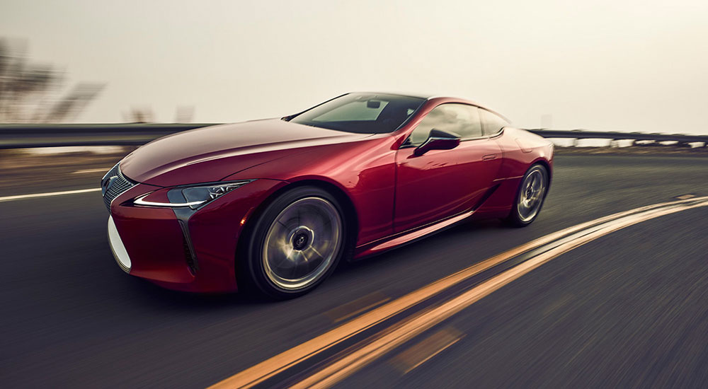 Lexus LC Japan Angel Crest Highway