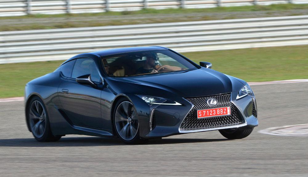 Lexus LC 500 KREW Driving