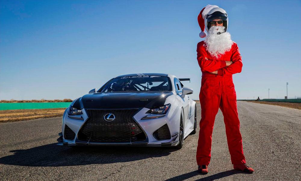 Lexus RC F GT3 Hotlap