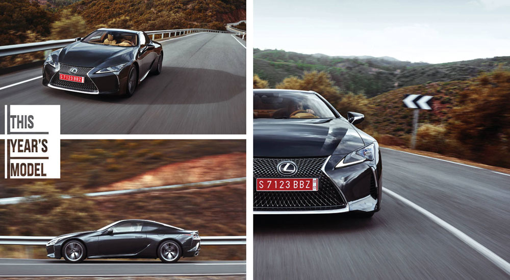 Lexus LC 500 The Drive