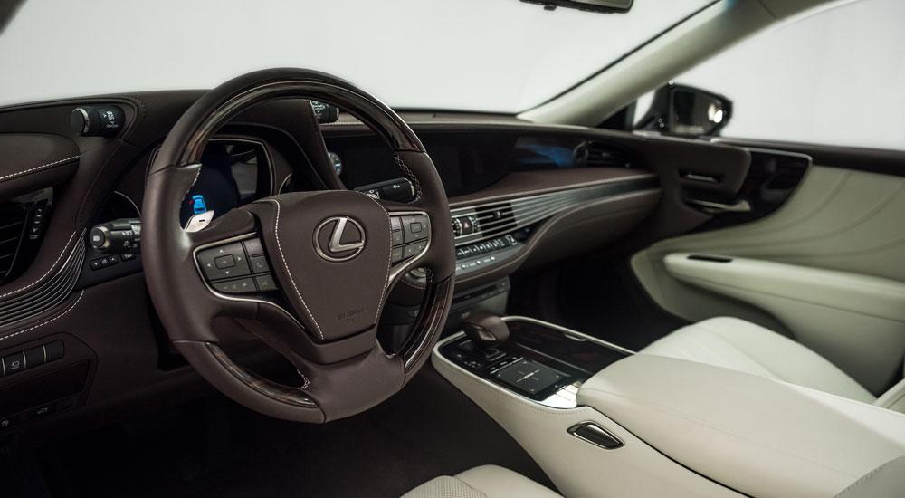 Lexus LS Interior Cabin