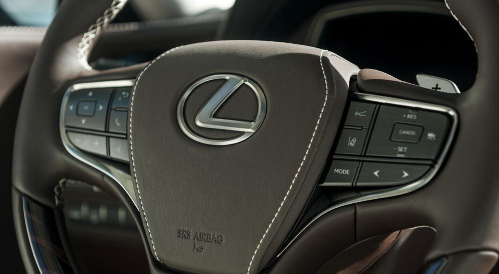 Lexus LS Paddle Shifts