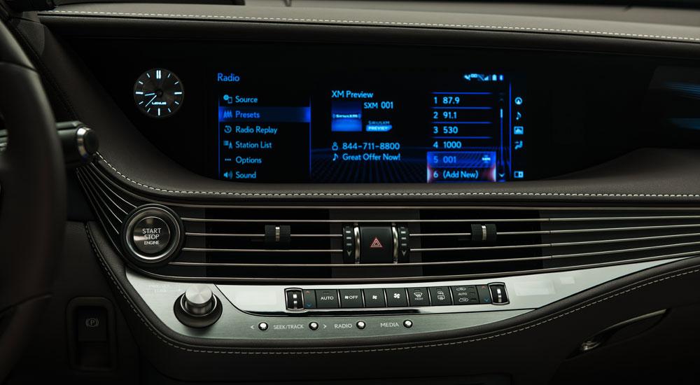 Lexus LS Stereo