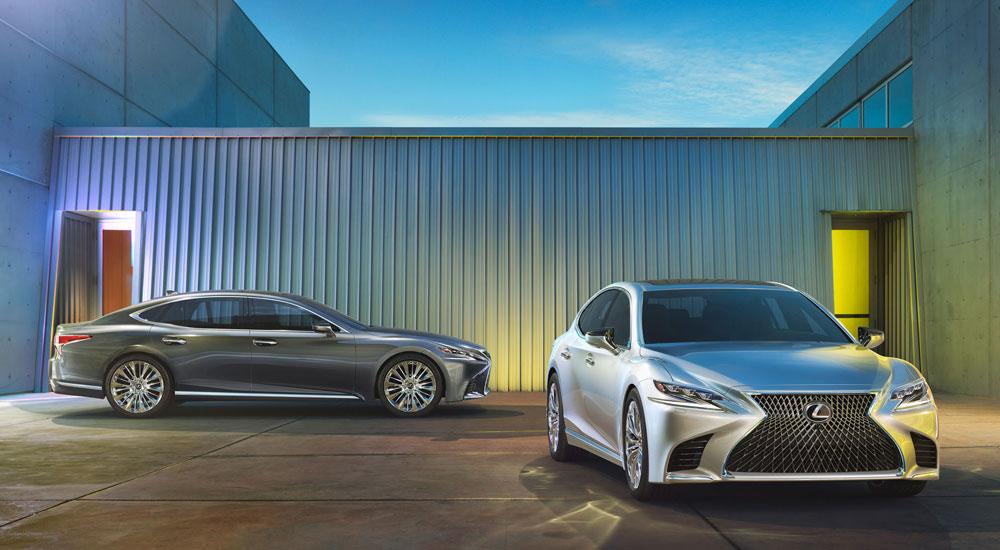 Lexus LS 2018 Photo Gallery