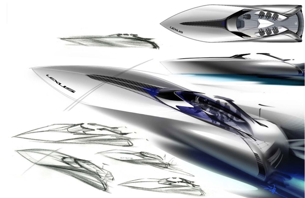 Lexus Sport Concept Sketches