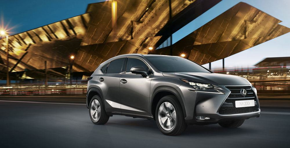 Lexus 2015 Europe Sales