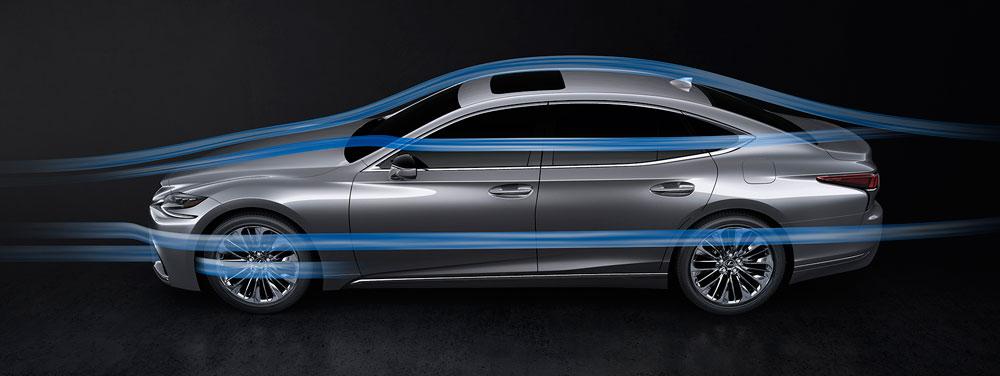 Lexus LS Aerodynamics