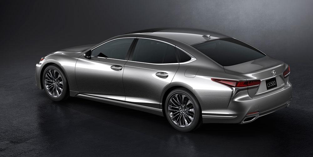 Lexus LS Rear 3/4