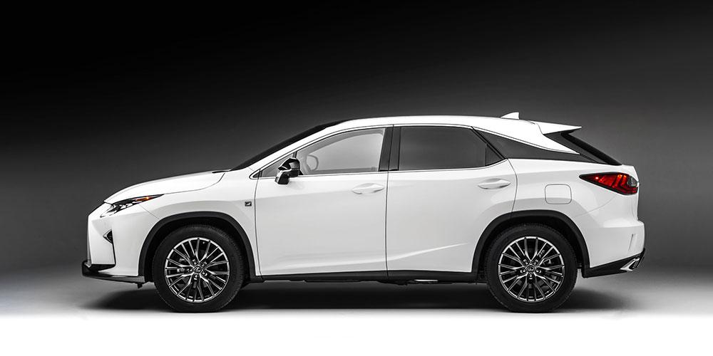 Lexus RX January 2017