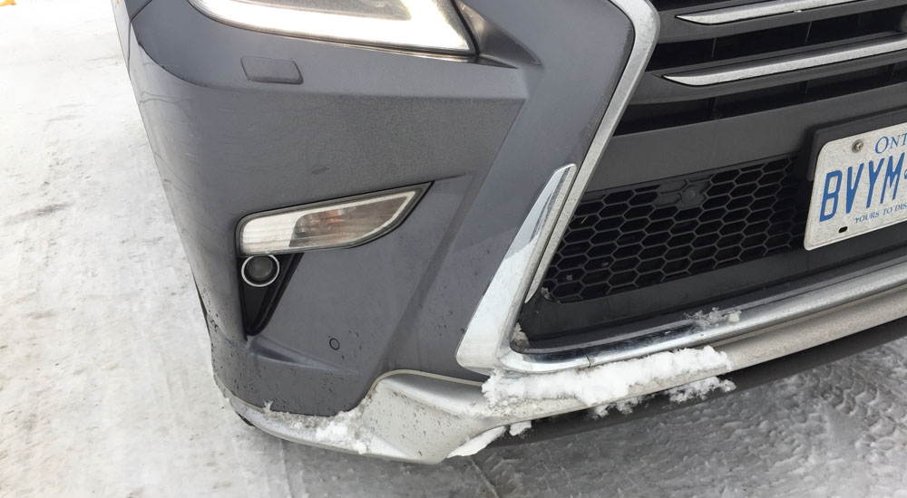 Lexus GX Snow Incident