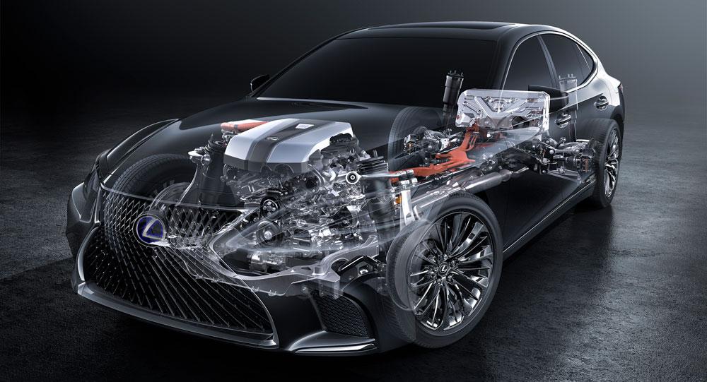 Lexus LS 500h Hybrid