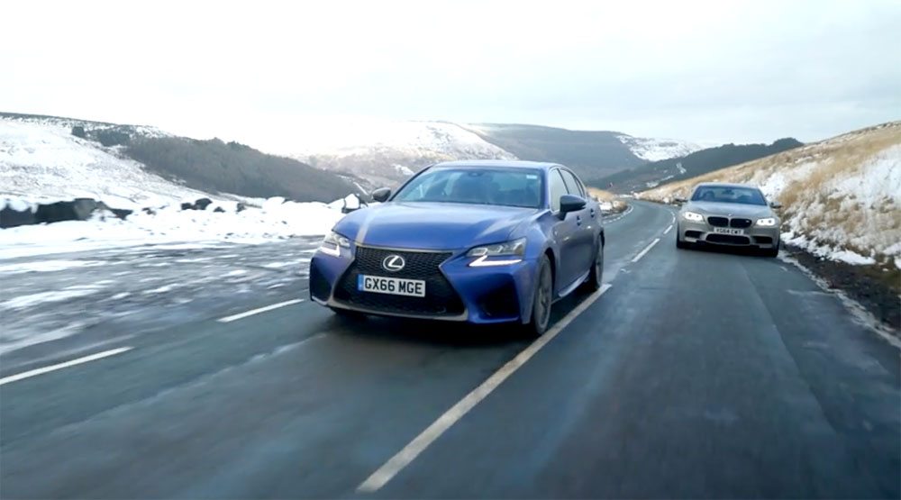 Lexus GS F vs BMW M5 Chris Harris