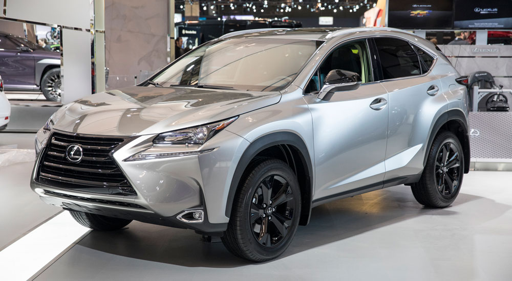 Lexus Canada Has Introduced A Nx 200t Special Edition For 2017 It S Equipped With 18 Inch Gloss Black Aluminum Alloy Wheels Along Upper