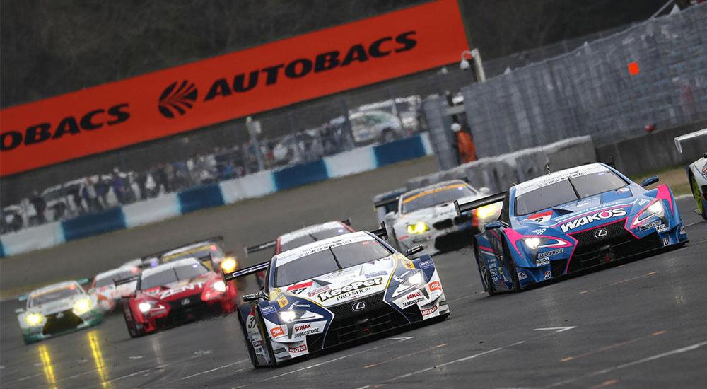Lexus Super GT Win