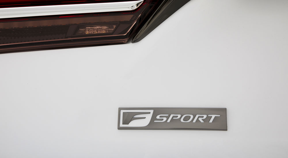 Lexus LS F SPORT Badge