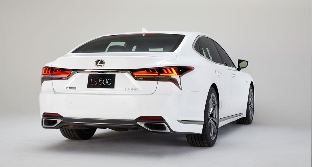Sedan Earlier This Year The All New 2018 Ls 500 Lexus Is Putting An Exclamation Point On Signature Model With F Sport