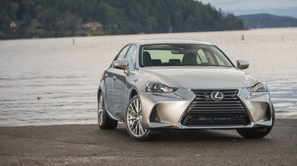 Driving The 2017 Lexus Is 300 Awd