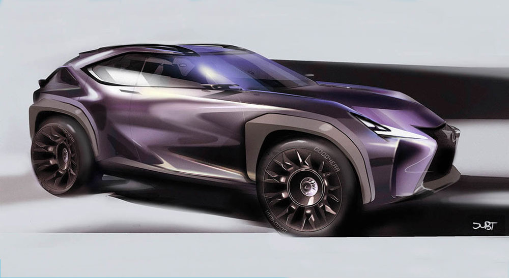 Video Designing The Lexus Ux Crossover Concept Lexus