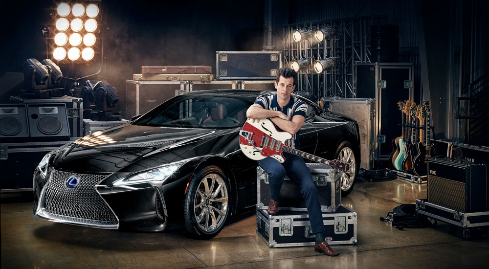 Lexus Mark Ronson Collab