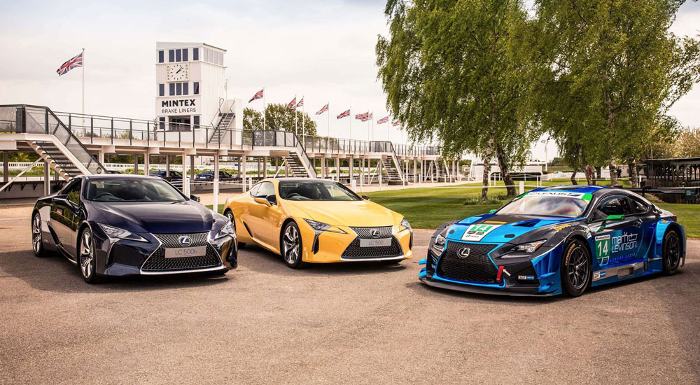 Lexus Lc To Star At This Year S Goodwood Festival Of Speed Lexus