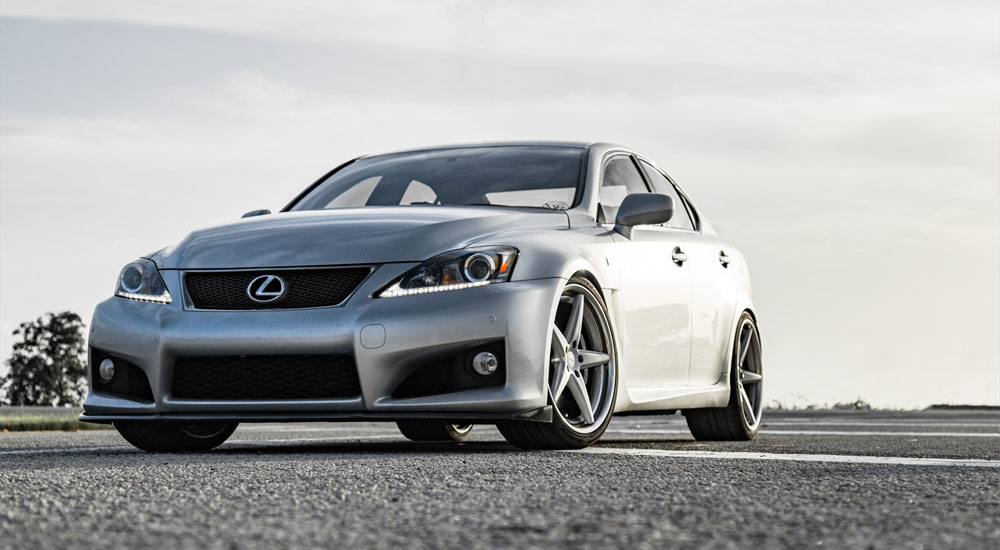 Lexus IS F x Vossen x WORK