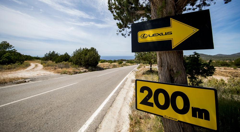 Lexus Ibiza Sign