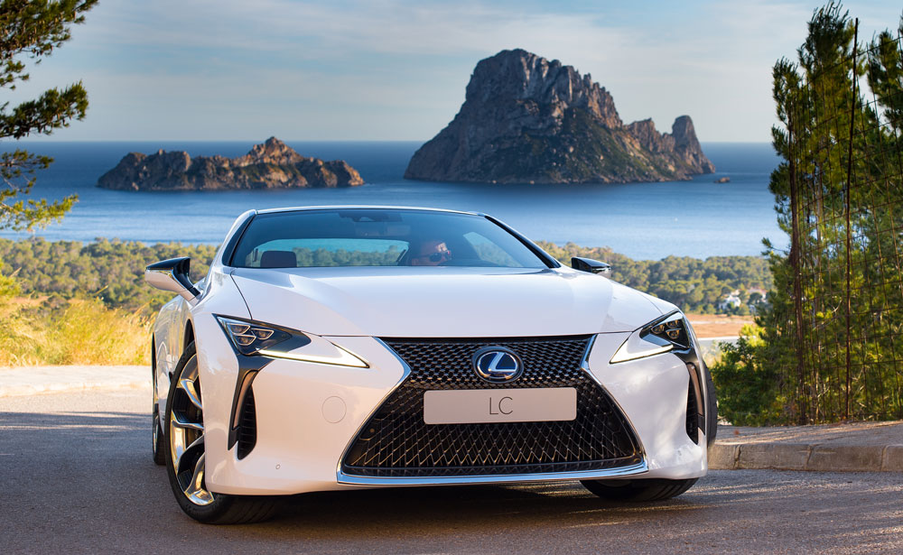 Lexus LC Ibiza Mountain