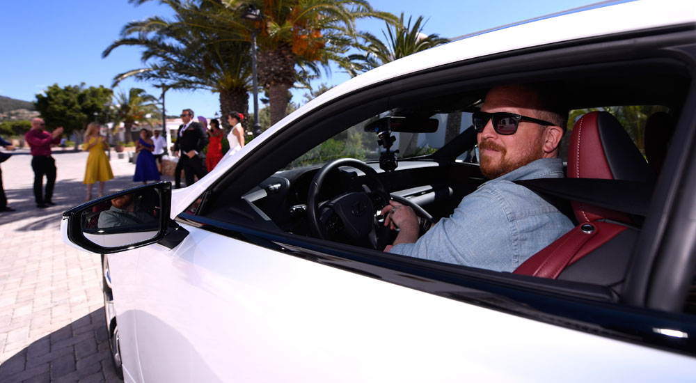 Lexus LC Kevin Watts Ibiza