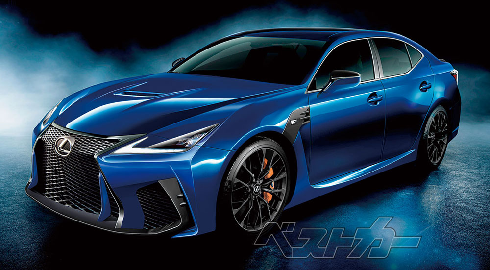 Lexus GS F Next-Gen Rendering