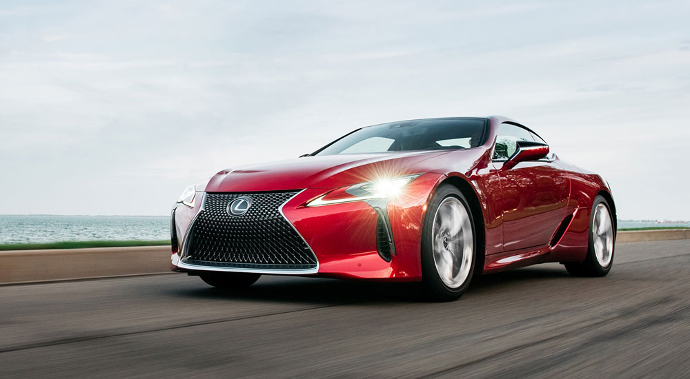 Lexus LC Automobile Magazine