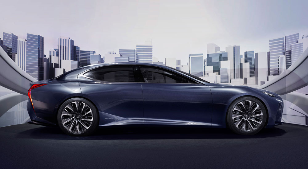 Lexus LS Electric Vehicle