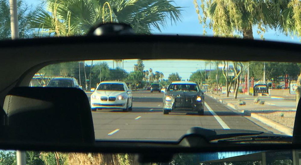 Lexus LS Rear View Mirror