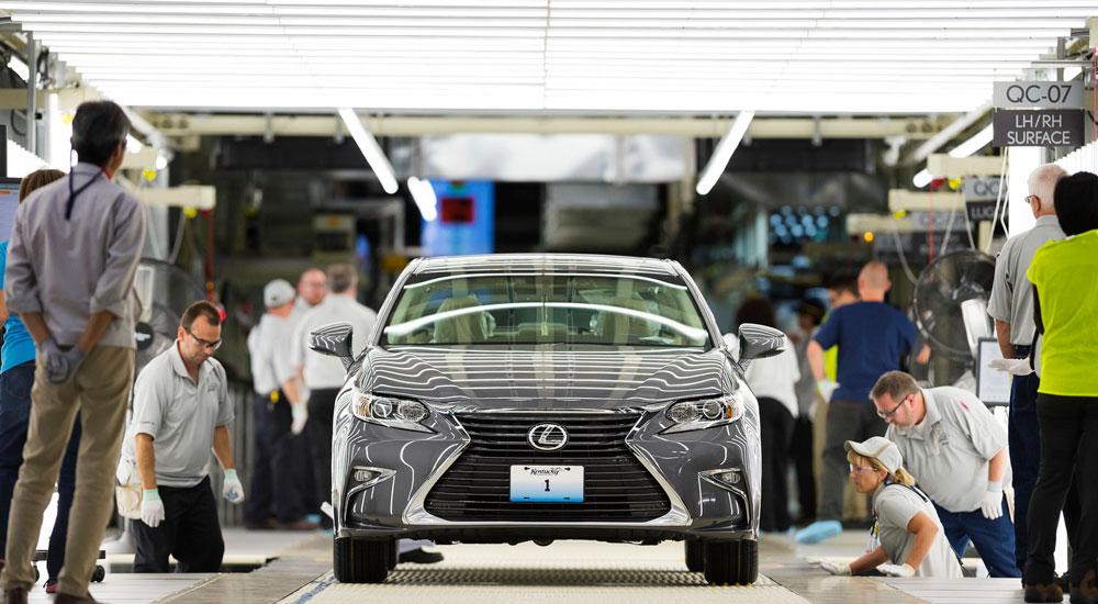 Lexus ES Production