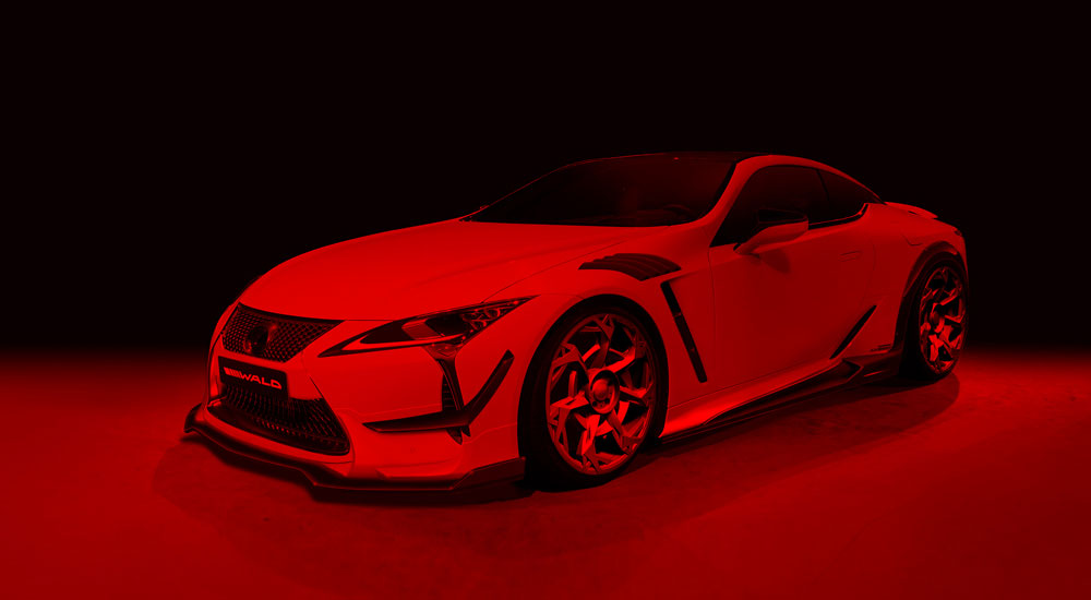 Lexus LC 500 Wald Body Kit