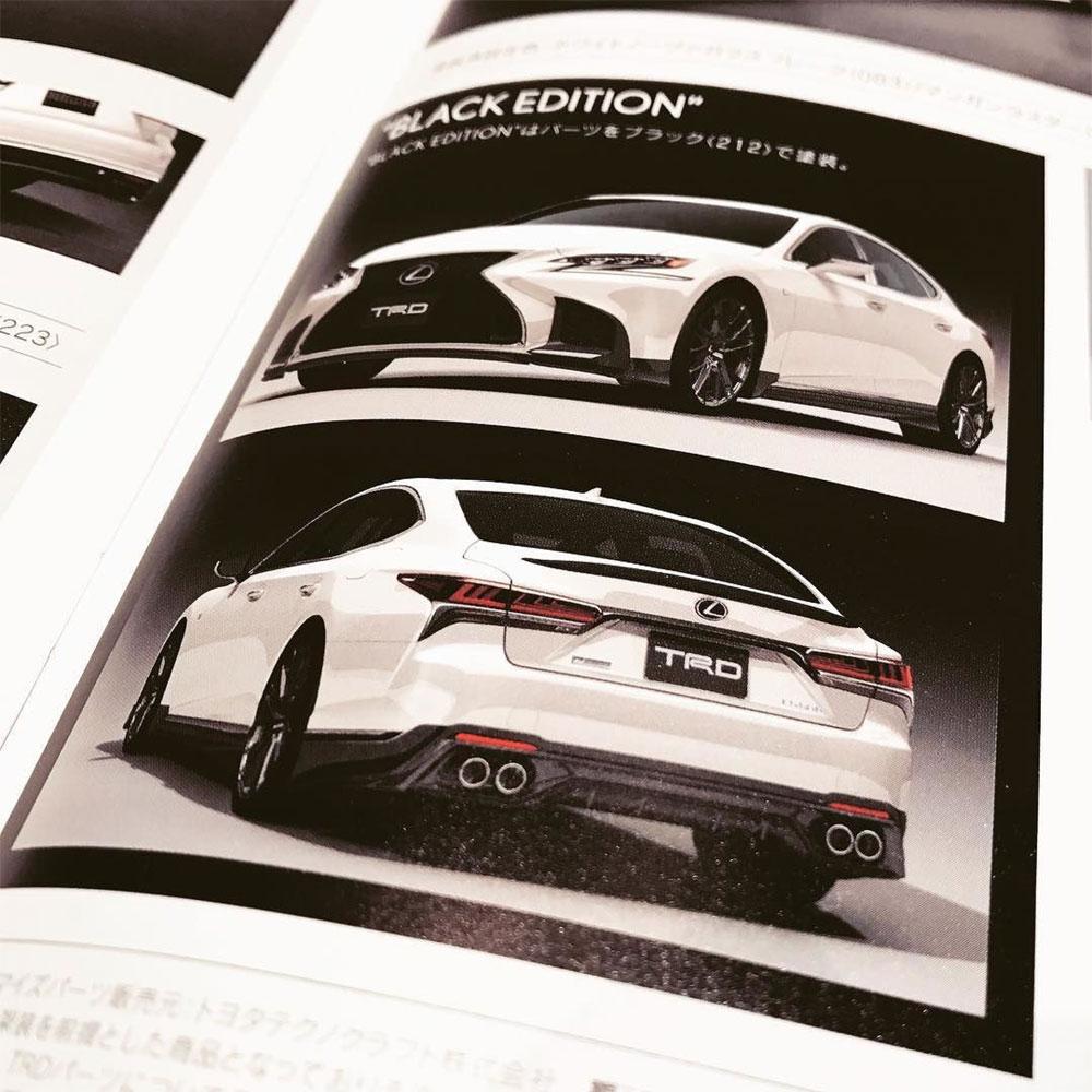 Lexus LS TRD Japan