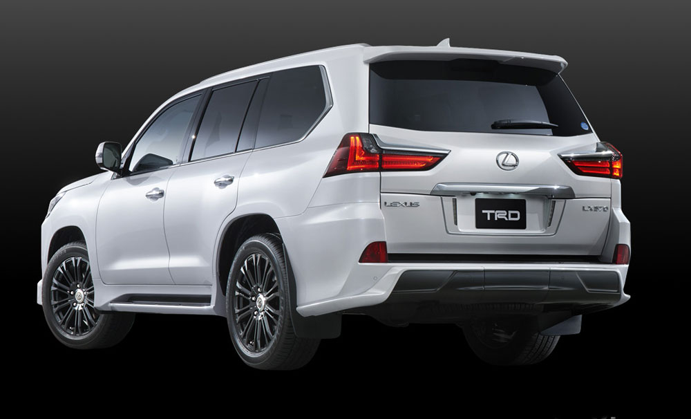 Lexus LX TRD Rear Full