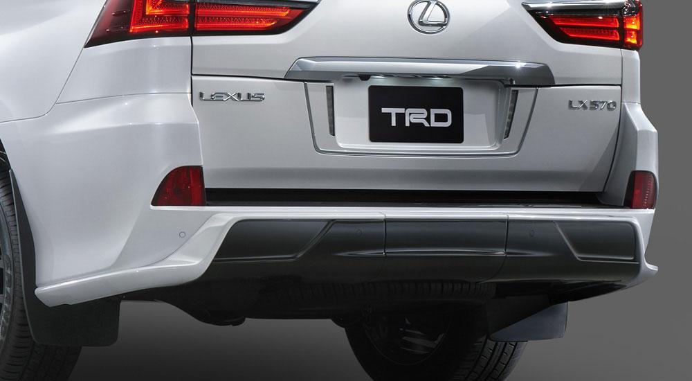 Lexus LX TRD Rear