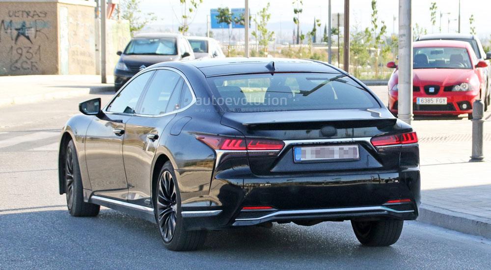 Lexus LS F Rear