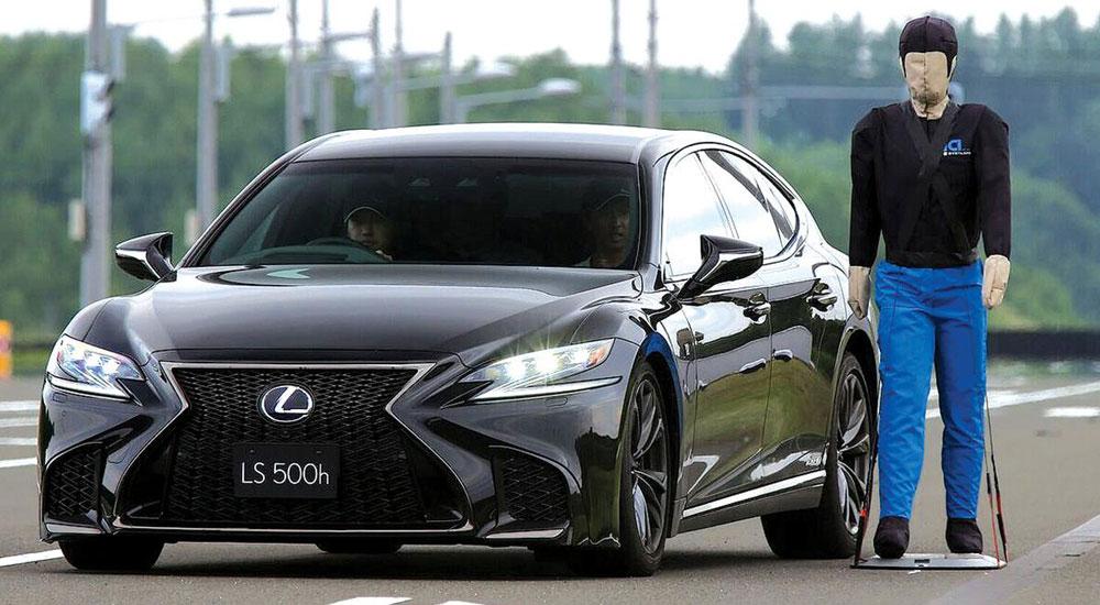 Lexus LS Obsidian