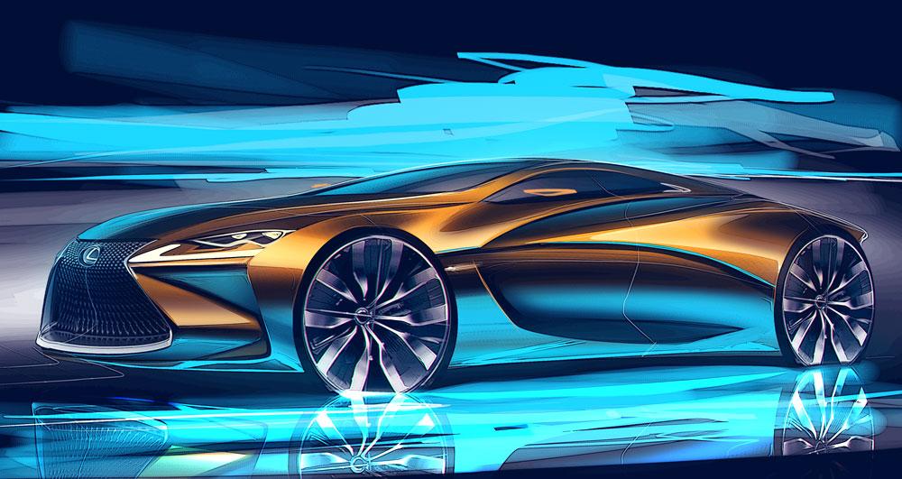 Lexus Concept Esa Must
