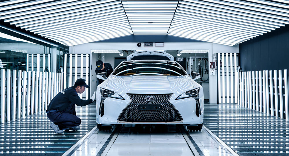 Lexus LC Factory Tour