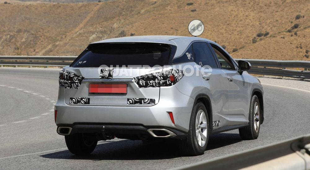 Lexus RX Mystery rear